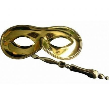 Metallic Gold Eyemask